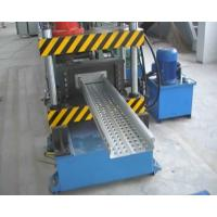 Buy cheap CT-600 Ladder Type Perforated Cable Tray Roll Forming Machine , Cable Tray Production Line from wholesalers
