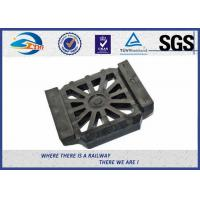 China Durable Rubber Pads for Steel Tracks / Black Color Rail Base Part on sale