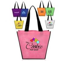 Buy cheap Full Color Printing Logo Eco Promotion Corporate Custom Tote Shopping Non Woven Bag Eco friendly Biodegradable Compostab from wholesalers