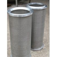 Buy cheap Supply sintered felt filter, stainless steel sintered felt filter from wholesalers