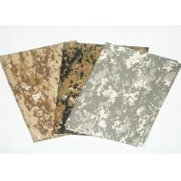 Buy cheap Camouflage Print Fabric Fire Retardant Antistatic For Military Uniform from wholesalers