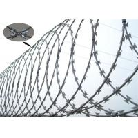 Buy cheap Anti Corrosion Razor Blade Barbed Wire BTO- 22 For Construction Fencing from wholesalers