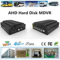 Buy cheap 4CH Support 4 Cameras, SD Card + HDD School Bus HD 4g AHD Mobile DVR from wholesalers