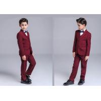 Buy cheap Elegant Boys Ring Bearer Outfit , Fomal Toddler Boy Ring Bearer Clothes from wholesalers