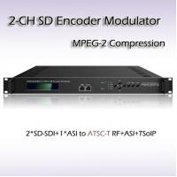 Buy cheap REM7204 Two-Channel SD-SDI TO ATSC MPEG-2 SD Encoding Modulator from wholesalers