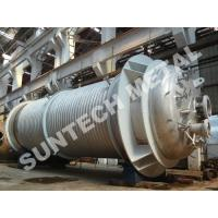 Buy cheap 316L Main body & 304  Half Pipe Industrial Reactor  for PO Plant from wholesalers