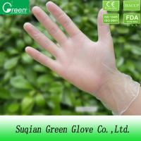 Buy cheap Medical non-sterile surgical gloves powder free with paste resin / CE CFIA from wholesalers