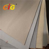 Buy cheap Polyester Interior Car Roof Fabric , Sponge Bonded Auto Seat Upholstery Fabric product