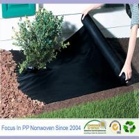 """Buy cheap 43""""44"""" Width and Make-to-Order Supply Type garden weed control fabric from wholesalers"""