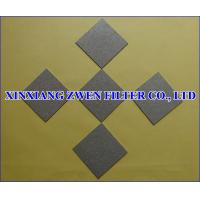 Buy cheap Stainless Steel Porous Filter Sheet product