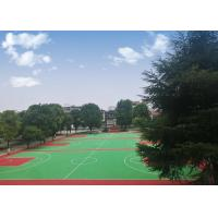 Buy cheap Wear Resisting Removable Basketball Court Flooring Non Poisonous For Outside from wholesalers