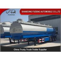 Buy cheap 32000 Litres Customized Fuel Tanker Semi Trailer Trucks Stable Performance from wholesalers