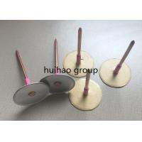 Buy cheap Galvanized Steel Cup Head Weld Pins , 12Ga Insulated anchor Pins from wholesalers