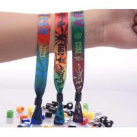 Buy cheap Professional Event Wrist Bands , Adjustable Fabric Wrist Band For Kids from wholesalers
