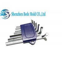 China 7pcs S2 Alloy Steel Hex Key Wrench Set , Metric Flat End Hex Spanner Wrench on sale