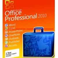 Genuine Microsoft Office 2010 professional FPP activate key code