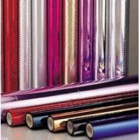 Buy cheap Christmas Gift Coloured Foil Rolls Wrapping Foil Paper 12Micron Thickness from Wholesalers