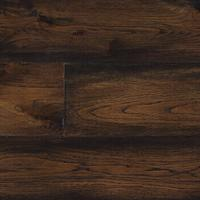 Buy cheap American Hickory Coffee color engineered wood floors from wholesalers