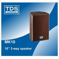 Buy cheap 10inch Entertainment Speaker Series MK10 with 300W for Professional Audio System from wholesalers