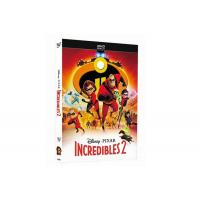 China Incredibles 2 DVD Classic Disney Movie Cartoon Action Adventure Series Animation DVD For Family Kids US/UK Edition on sale