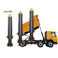 Buy cheap Steel Hydraulic Lift Cylinder Dump Truck Telescoping Sleeve Chrome product