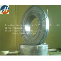 Buy cheap Galvanized flat stitching wire from wholesalers