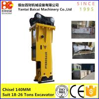 Buy cheap Silenced type Soosan  SB81 excavator korea hydraulic bead breaker from wholesalers