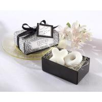 """Buy cheap """"Hugs & Kisses From Mr. and Mrs.!"""" Scented Soap Weddomg Favor from wholesalers"""
