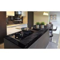 Buy cheap Granite Countertops In Kitchen , Agatha Black Granite Countertop Polish Finished from wholesalers
