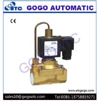 Buy cheap Pilot Diaphragm Type Pneumatic Solenoid Valve with 5 Mpa High Pressure , DC 12V - 24V from wholesalers