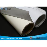 Buy cheap Aqueous Inkjet Media Supplies Grey Base Waterproof Self - Adhesive Matte PVC Vinyl roll from wholesalers