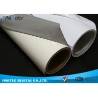 Buy cheap Aqueous Inkjet Media Supplies Grey Base Waterproof Self - Adhesive Matte PVC product