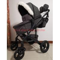 Buy cheap 3 in 1 aluminum newborn winter baby buggy pram stroller pushchair for cold weather EN1888 from wholesalers