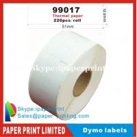 Buy cheap Dymo Labels 99017 9017 DYMO/Turbo compatible labels 51x12.5mm 220 labels/roll from wholesalers