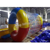 Buy cheap Crazy Fun Airtight 0.8mm PVC / TPU Inflatable Water Roller For Swimming Pool from wholesalers