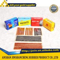 Buy cheap tire repair seal string tire seal string tire repair plug rubber string tire repair strip rubber strip puncture sealing from wholesalers