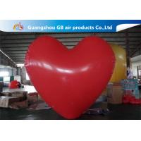 Buy cheap Party Big Red Love Heart Inflatable Model PVC Helium Balloon Airtight product