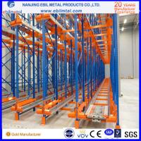 Buy cheap Big Brand Powder Coated Steel Radio Shuttle Pallet Racking with Pallet Runner from wholesalers