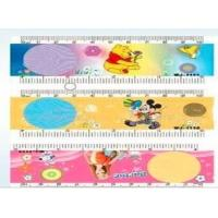 Buy cheap OK3D 3D PET ruler Cartoon lenticular 3d plastic folding ruler 3D Lenticular Printed Plastic Straight ruler for school from wholesalers