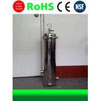 Buy cheap SS Filter Housing Stainless Steel Water Filter Housing 20 Inch 3 Cores from wholesalers
