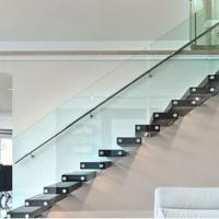 Buy cheap China supplier building materials frameless standoff glass railings from wholesalers
