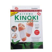 Buy cheap 10pcs Kinoki Detox Foot Pads Patch Detoxify Toxins Adhesive Help Sleep Keep Fit herbal china foot patch factory supply from wholesalers