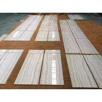 Buy cheap Onyx wooden white marble natural marble tile and slab from wholesalers