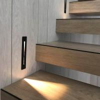 Buy cheap 3W Recessed Led Stair Light AC85-265V Indoor IP20 Corner Wall Stairs lights (WH-OR-01) from wholesalers