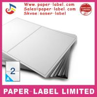 Buy cheap Label Dimensions: 210mm x 148mm Software Compatible Codes: DPS02 A4 labels from wholesalers