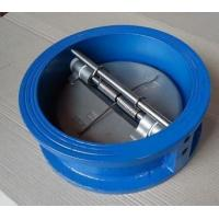 Buy cheap H76 Dual Disc Check Valve , Flanged Swing Check Valve Normal Pressure from wholesalers