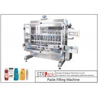 Easy Maintenance Paste Filling Machine / 6 Head Filling Machine For Shampoo