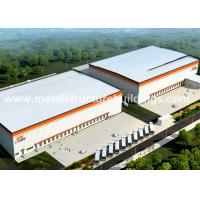 Buy cheap Custom Steel Structures Warehouse Building from wholesalers