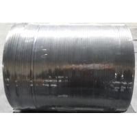 Black Color Flexible Graphite Tape Custom Size Stamping Type Higher Smoothness