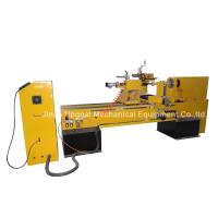 Buy cheap CNC Wood Turning Broaching Engraving Machine with Single Axis Double Blades from wholesalers
